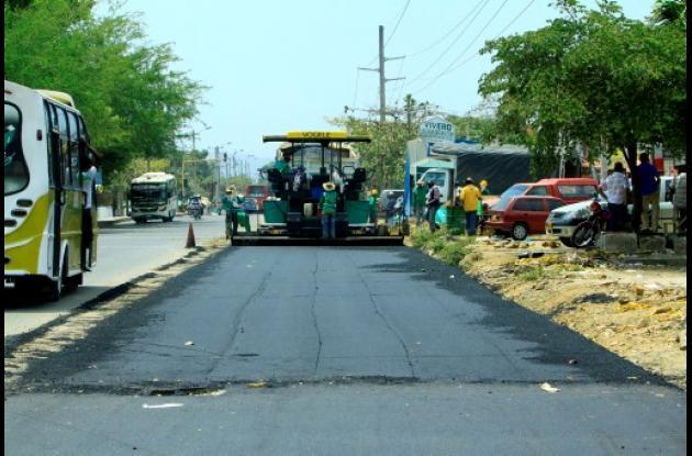 Obras de doble calzada Cartagena - Cruz del Vizo