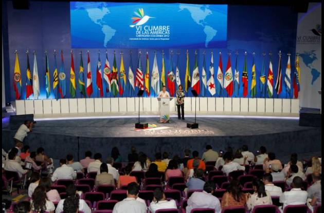 Presidente Santos da a conocer documentos de la VI Cumbre.