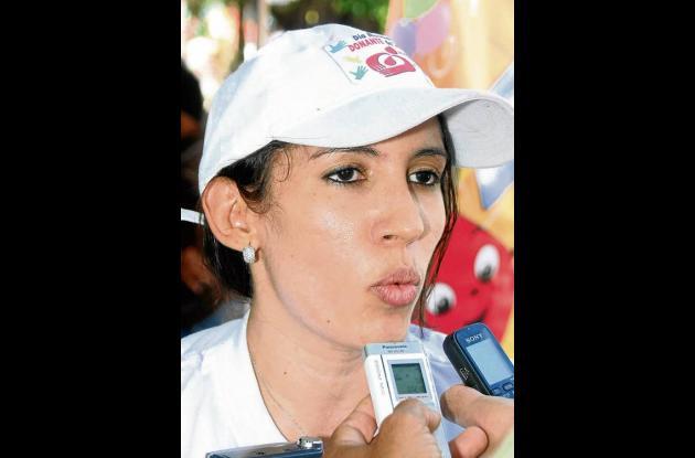 María Stella Gómez, coordinadora de la Red Departamental de Bancos de Sangre.