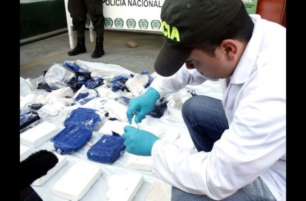 La droga fue hallada y escondida por pescadores de Rincón del Mar.