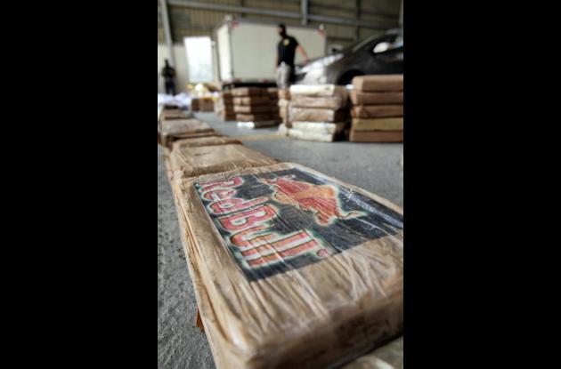 La heroína estaba empacada en 639 paquetes
