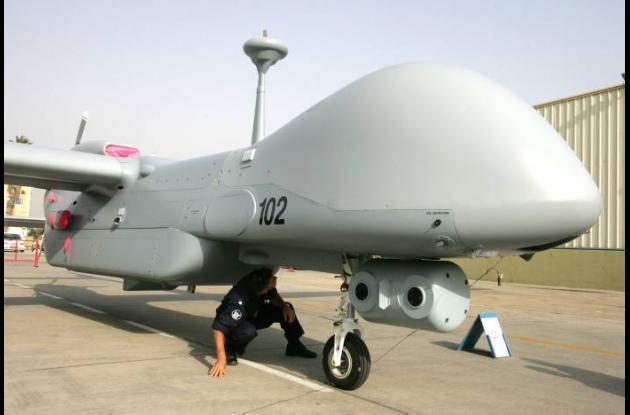 Imagen de uno de los diferentes modelos de aviones tele-dirigidos