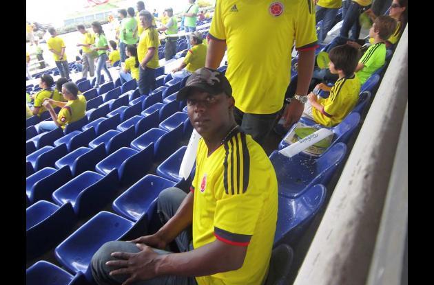 El grandes ligas Édgar Rentería está en el estadio Metropolitano de Barranquilla