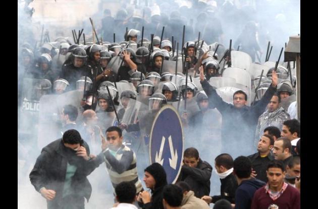 Sigue grave la situación en Egipto.