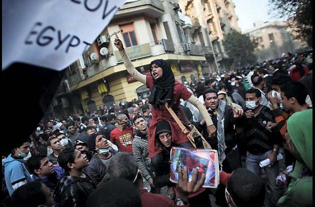 Manifestaciones en Egipto