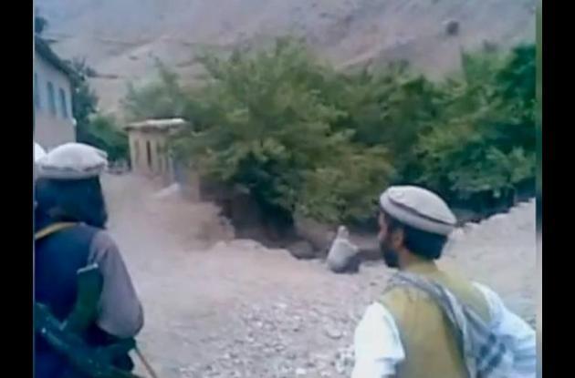 Imágenes tomadas del video