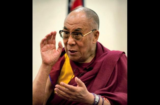 El Dalai Lama, líder espiritual tibetano.
