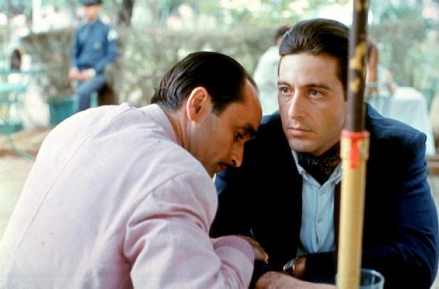 El padrino,  es la transformación de Michael Corleone (Al Pacino)