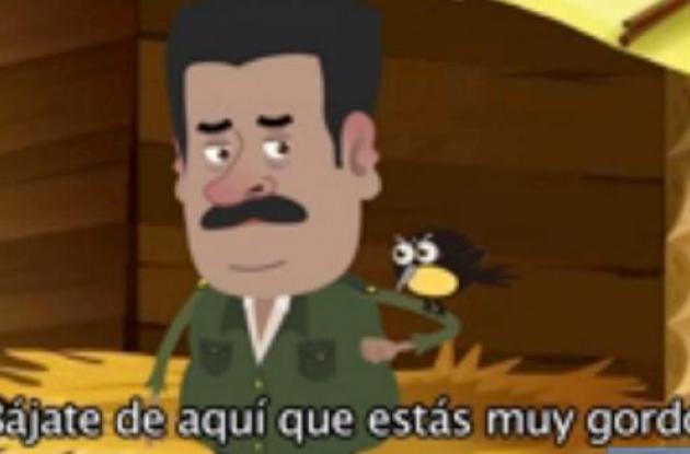Tira cómica sobre el Nicolás Maduro y sus