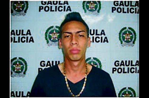 """Diego Alejandro Galeano, alias """"El Boca""""."""