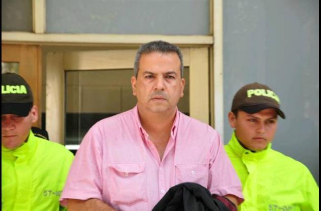 Elías Eduardo Abomohor Salcedo, fue capturado por la Policía de Barranquilla