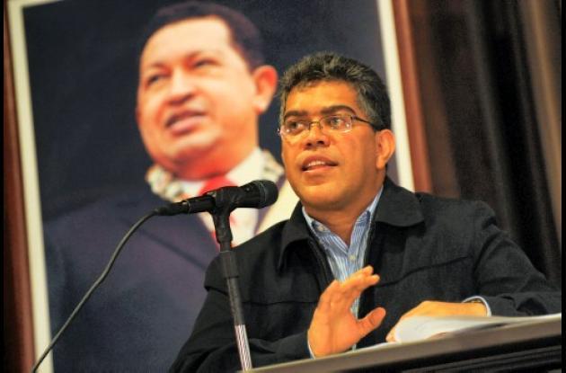 Elías Jaua, vicepresidente de Venezuela.