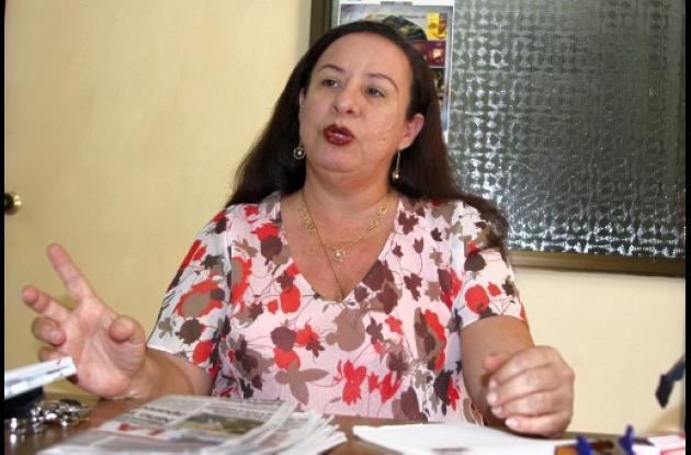 Elizabeth López, decana de la Facultad de Medicina de la Universidad de Cartagen
