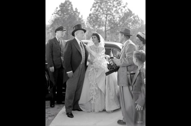 Elizabeth Taylor en el El padre de la novia