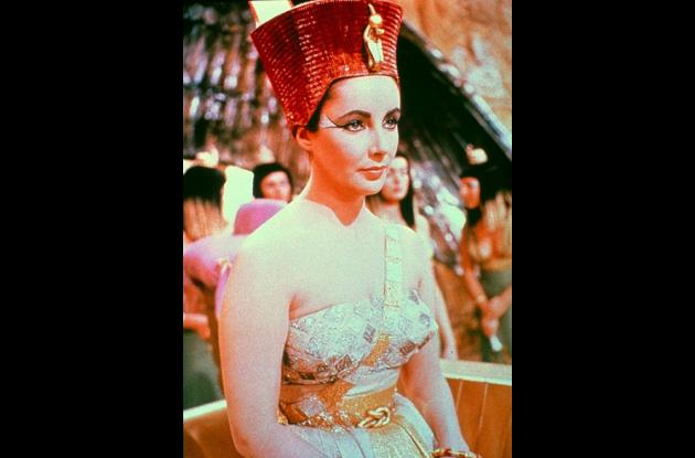 Elizabeth Taylor en Cleopatra.