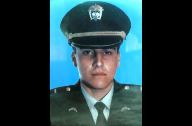 Mayor  de la Policía Elkin Hernández Rivas