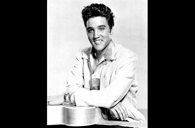 Elvis Presley en 1957.
