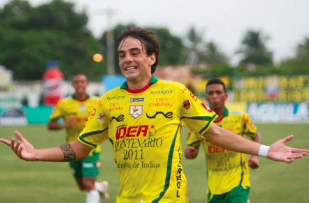 Emanuel Molina, jugador del Real Cartagena.
