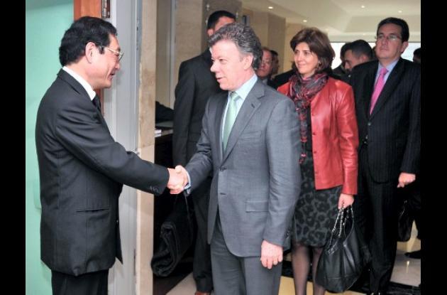 Colombia expresa solidaridad al Japón.