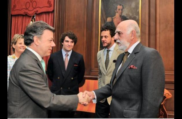 Ante el presidente Santos se posesionó nuevo embajador de Venezuela