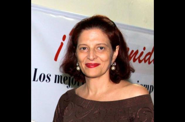 Emilia Fadul, registradora de Instrumentos Públicos de Cartagena.