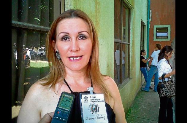Xiomara Ramírez, presidenta ejecutiva Fenalco Montería.