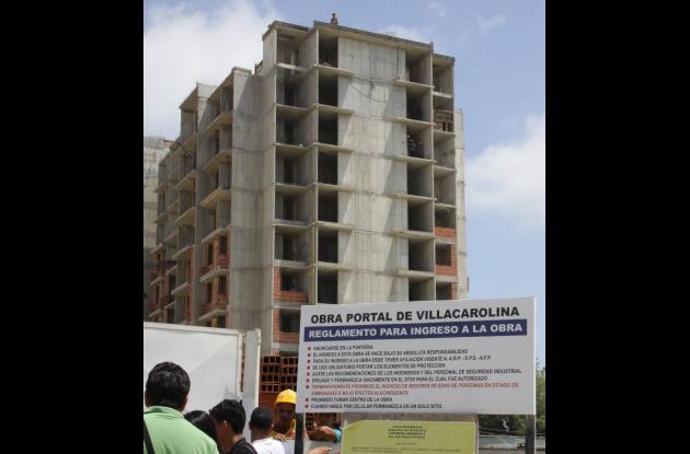 Muertos edificios construcción