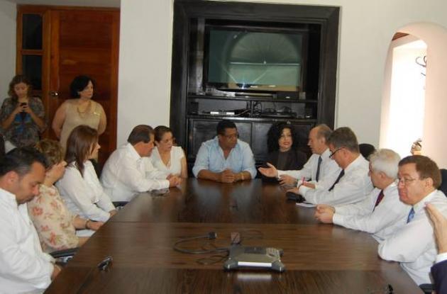 Visita del alcalde de Estambul (Turquía) a Cartagena