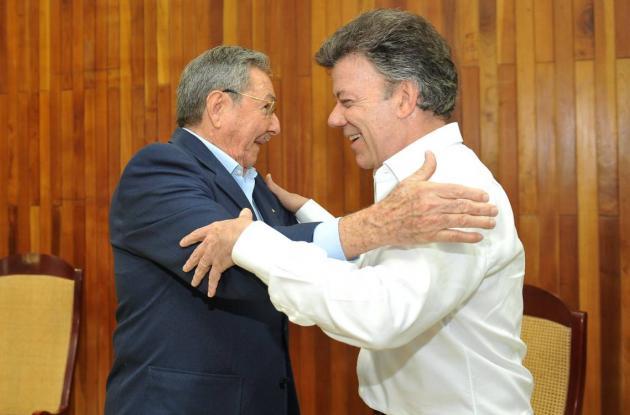 Encuentro de presidentes en Cuba