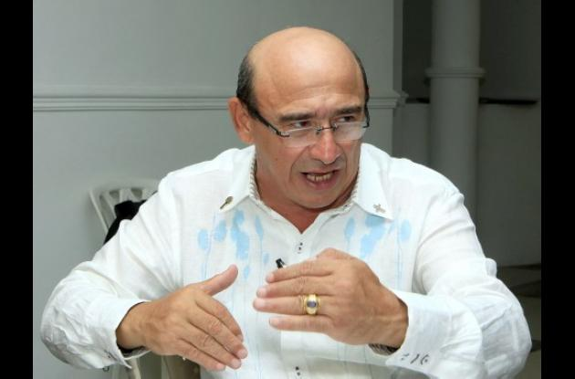Enrique Chartuni, gerente de Transcaribe.