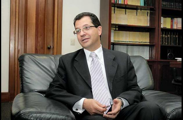 Mauricio Fajardo, presidente del Consejo de Estado.