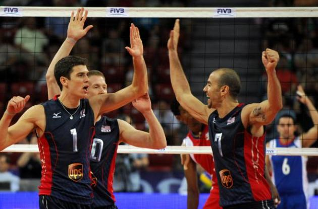 Equipo de voleibol de Estados Unidos.