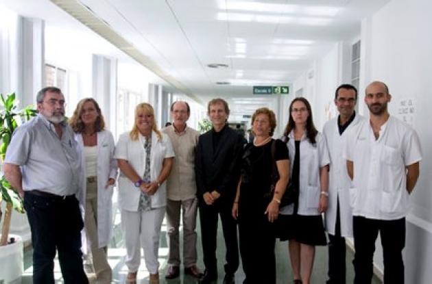 Equipo médico español que desarrolló la técnica.
