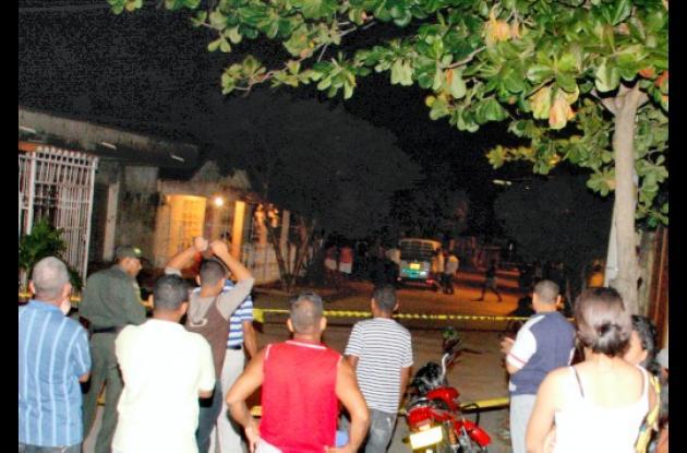 Asesinadas dos personas en Escallón Villa.