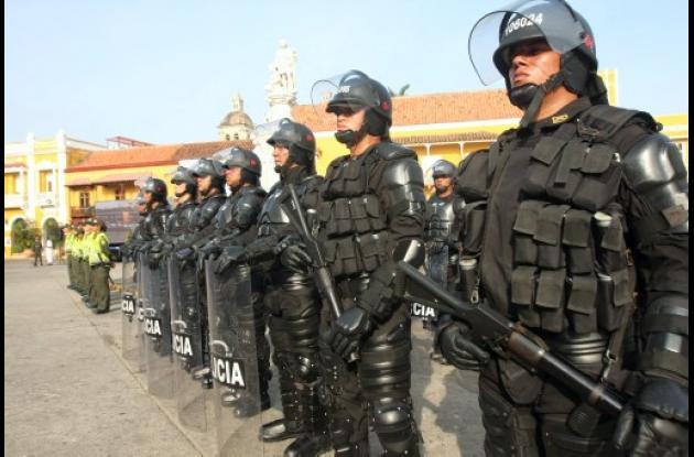Lanzamiento plan de seguridad para Mundial de Fútbol Sub - 20 en Cartagena.