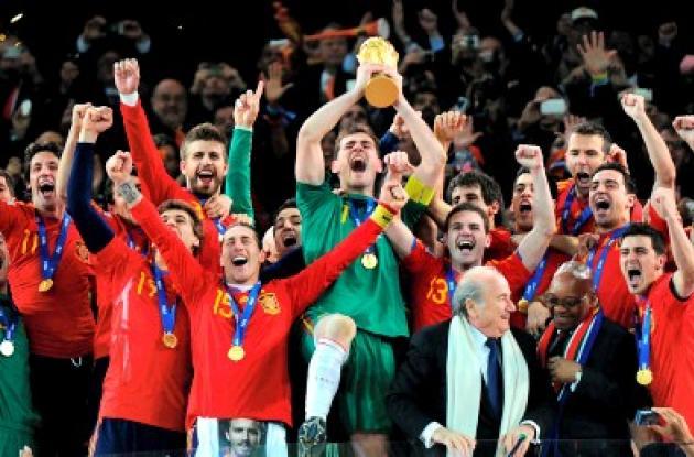 España conquistó su primer título mundial de fútbol y hoy celebra un año