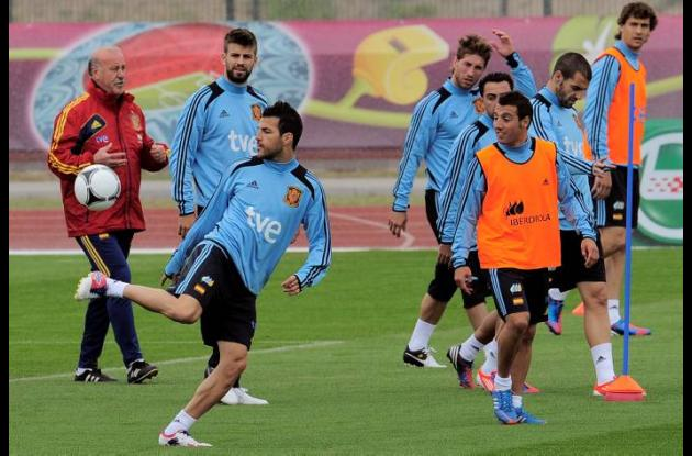 España se prepara para la Eurocopa 2012.
