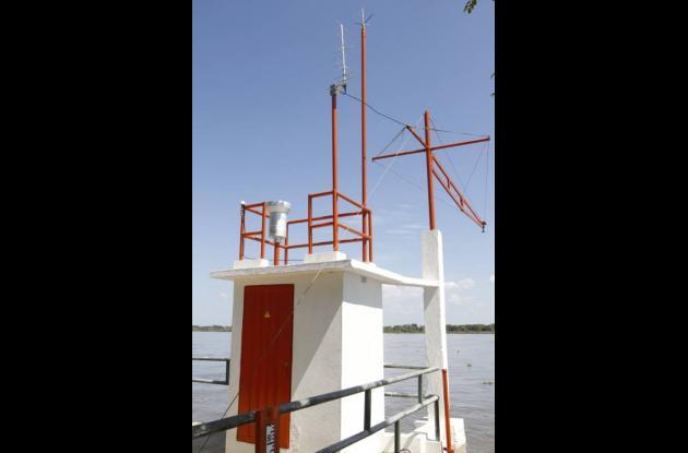 Estación hidrometeorológica San Pedrito, instalada en territorio comprendido ent