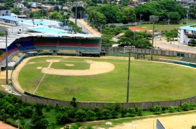 Estadio de béisbol 11 de Noviembre.