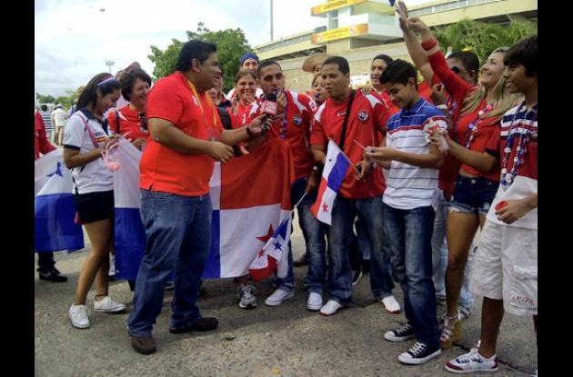 Se calienta ambiente mundialista en Cartagena