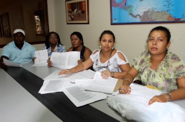 Personas estafadas en Cartagena por Sandra Ríos