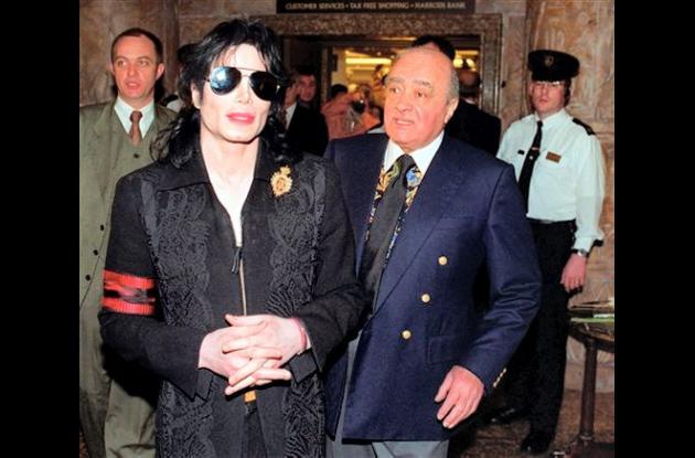 Mohamed Al Fayed, presidente del Fulham, fue amigo de Michael Jackson.