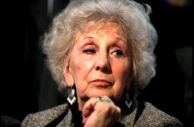 Estela Carlotto, presidenta de Abuelas de Plaza de Mayo.