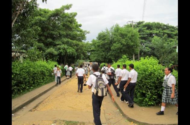Los estudiantes de los colegios de Villanueva son blanco de expendedores de drog