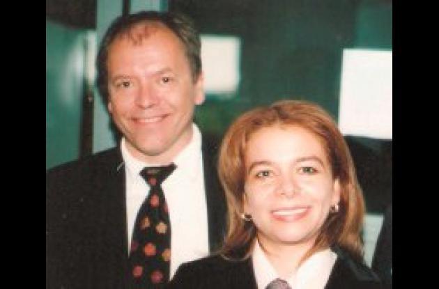 Olle Soder y Eugenia Colón Cervantes.