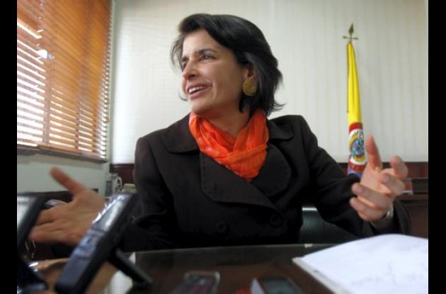 Adelina Covo, ex presidenta del CNE.