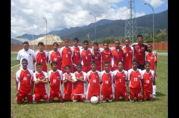 Expreso Rojo, campeón de la categoría Junior en la temporada 2010.