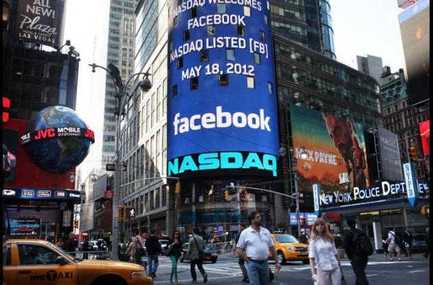 Ingreso de Facebook a la bolsa.