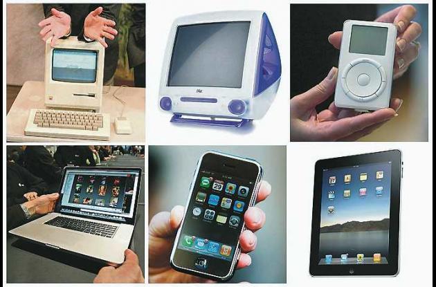productos de Apple Inc., que salieron durante el mandato de Steve Jobs