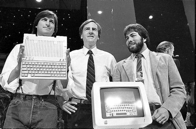 El 24 de abril 1984, Apple presentó el nuevo Apple IIc equipo, en San Francisco.